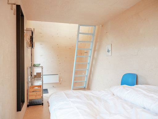 container tiny house minimalistisk indretning