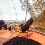 glamping i norge interieur